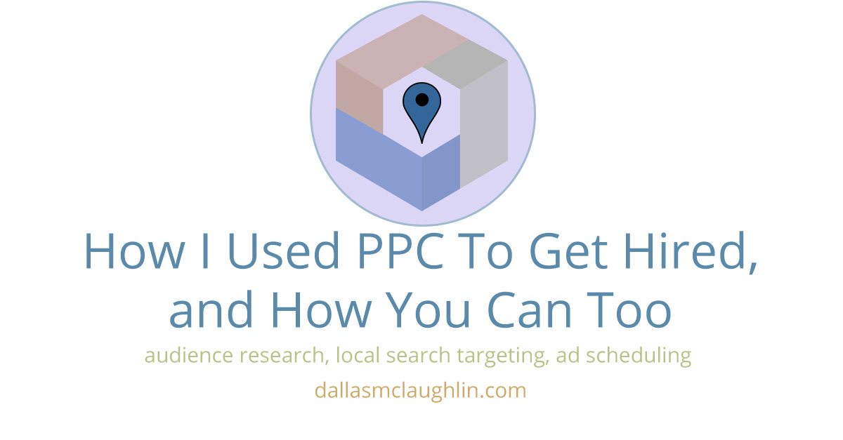 how to use ppc to get hired